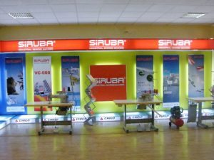 2010年6月20日银箭牌工业用缝纫机乌兹别克展示会