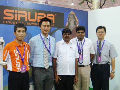 2010年7月16~18日印度班加羅爾國際紡織機械及配件展覽會